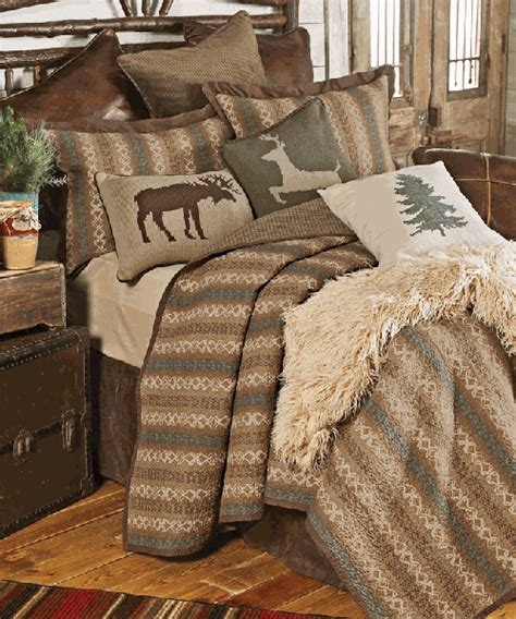 Rustic Quilts Rustic Country Quilt The Hill Woodland Lodge Bedding