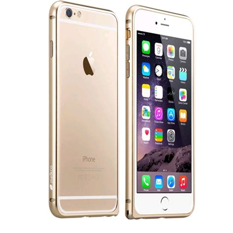Apple Iphone 6 Plus melkco aluminum bumper for apple iphone 6 plus gold