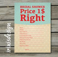 price is right bridal shower template free bridal shower ideas on bridal shower bridal shower and ikea expedit