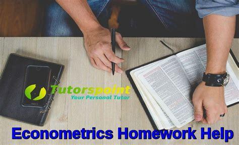 online tutorial econometrics econometrics homework help online econometrics assignment
