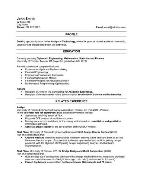 Ar Analyst Resume Sles 59 Best Images About Best Sales Resume Templates Sles On Professional Resume A