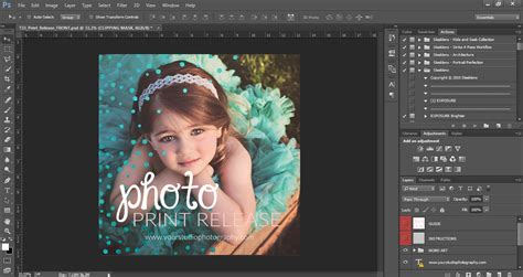 How To Use The Sleeklens Photography Templates For Adobe Photoshop Photography Template