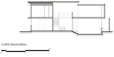 escaleras en corte frontal arquimaster ar proyecto casa v 3 lomas de