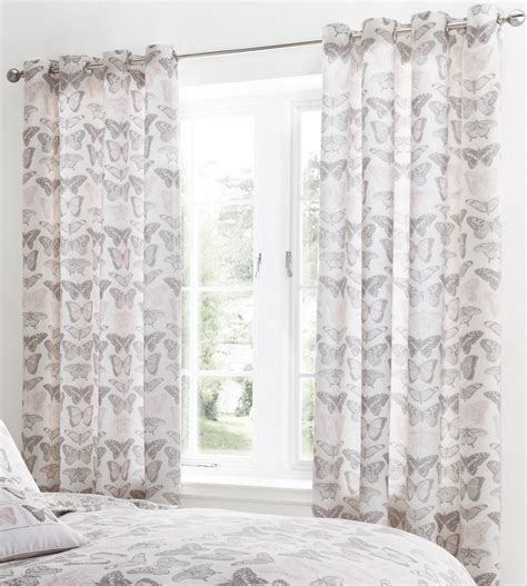 b q curtains ready made floral curtains eyelet ring top fully lined ready made