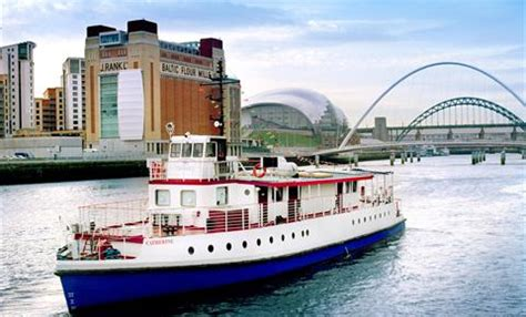 party boat on tyne river tyne sightseeing cruise discount voucher