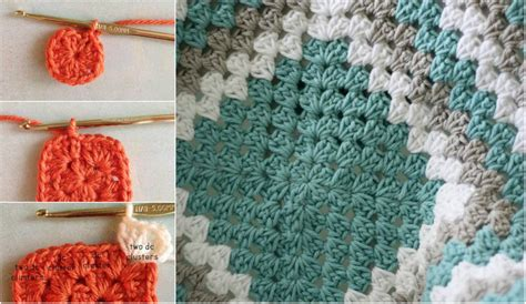 Free Square Baby Blanket Pattern by Free Crochet Pattern Square Baby Blanket