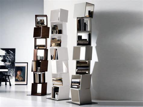 libreria verticale ikea librerie bifacciali