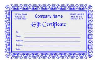 gift certificate template indesign free gift certificate templates in word indesign and