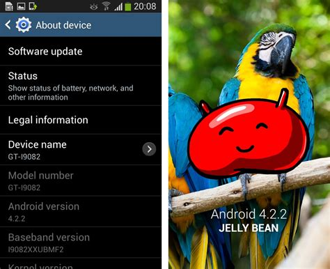 android themes version 4 2 2 fuite d android 4 2 2 pour le galaxy grand gt i9082