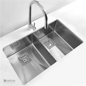 Overmount Kitchen Sink Seima Tetra Pro Blade Inset Overmount Kitchen Sink Buy At The Blue Space
