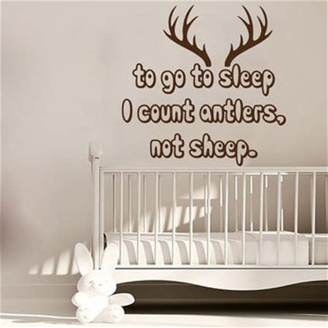 count antlers wall decal wall best antler sticker products on wanelo