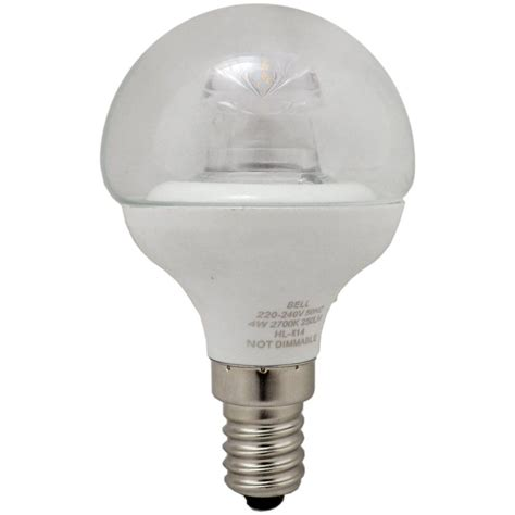 05709 4w Clear Mini Globe Led Light Bulb 4w Ses E14 Small Led Light Bulbs