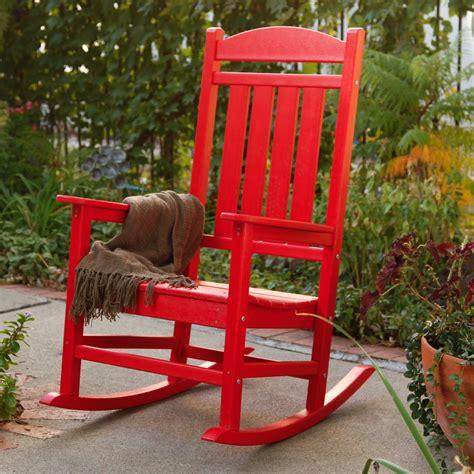 plastic patio rocking chairs
