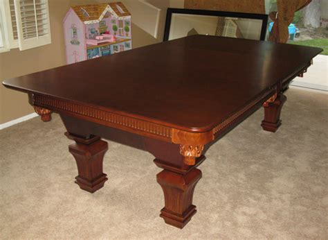 How To Make A Pool Table Dining Top Dining Table Augustine Dining Table