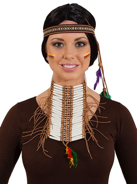 Karneval Schminken Indianer by Faschingsshop Indianer Brustschmuck