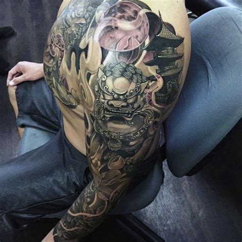 bum tattoos for men 50 japanese temple designs for buddhist ink