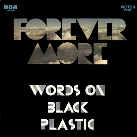 forever back m 250 sica obscura forever more words on black plastic 1971