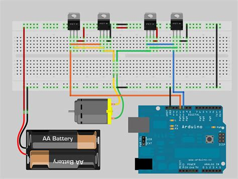 arduino code h bridge 3 3v h bridge down from 5v