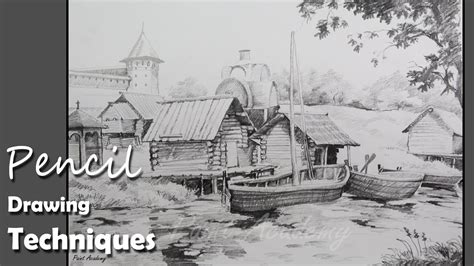 boat drawing for beginners pencil drawing techniques how to draw a beautiful