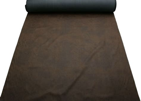 Distressed Faux Leather Upholstery Fabric by Aged Brown Distressed Antiqued Suede Faux Leather