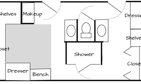 his and her bathroom floor plans 21 dream his and her bathroom floor plans photo home