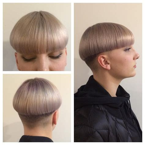 precision wedge with bangs bowl cut styled smooth colorandcutbyme precision