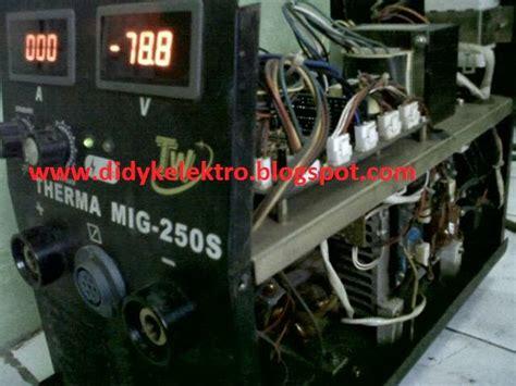Mesin Las Fujiyama didykelektro service mesin las inverter