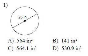 Circles circumference and area worksheets