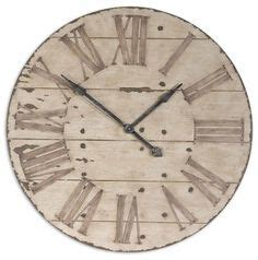 large vintage nautical wooden wall clock design is at the wall clocks