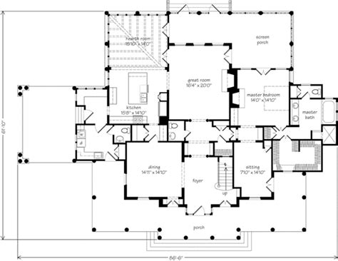 southern home floor plans newberry park allison ramsey architects inc southern living house plans