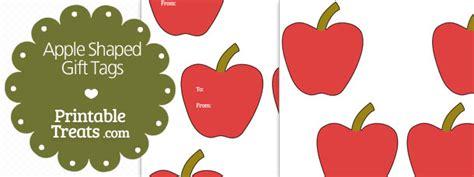 printable apple gift tags printable apple shaped gift tags printable treats com