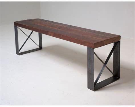 Sleek Modern Industrial Reclaimed Bench Coffee Table Sleek Coffee Table