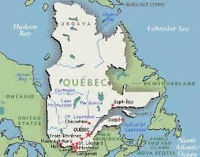 Quebec Canada Map by Quebec Ski Resorts