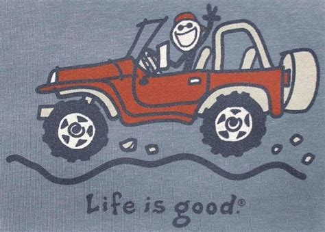 jeep life shirt all things jeep life is good quot jake wave quot jeep short