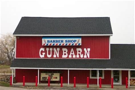 Gun Barn Otisville Mi barber shop gun barn humorous combination businesses