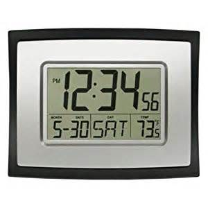 Digital Wall Clock Amazon by La Crosse Technology Digital Wall Clock Amazon Ca Home