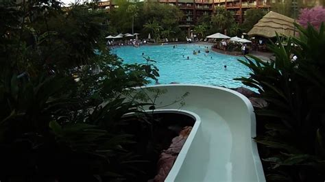 jambo house pool animal kingdom lodge jambo house pool slide clips gopro cineform youtube