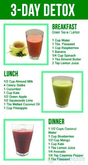 Danette May Detox Smoothie Liver by Tea Diet For Your Detox Day