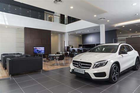 mercedes showroom interior mercedes malaysia boosts presence with opening of