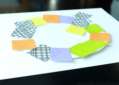 Quilt Paper Craft - paper quilt crafts for preschoolers