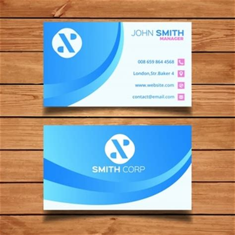 travel business card template wavy designs clean logo vectors photos and psd files free