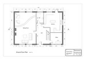 Basic House Floor Plans by Drawing2 Layout2 Ground Floor Plan 2 Danielleddesigns