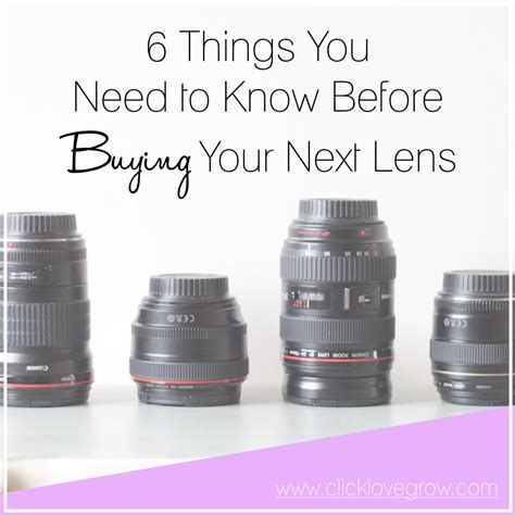 things you need to buy for a new house 6 things you need to know before buying a new lens click