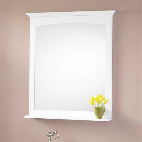 White Bathroom Vanity Mirror | alvelo vanity mirror white bathroom