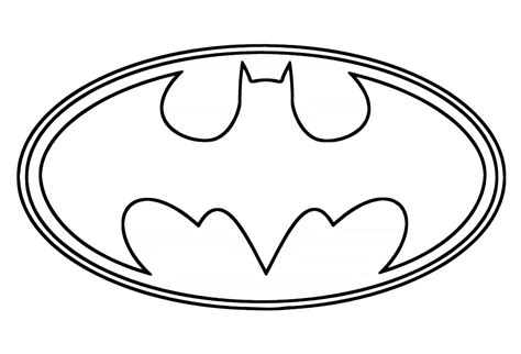 coloring pages of the batman symbol batman coloring page coloring pages of the batman symbol