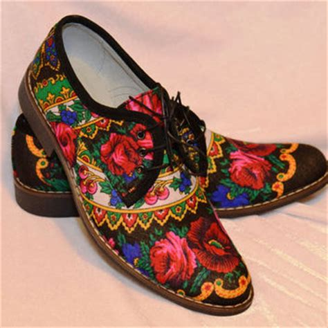 flower pattern shoes men oxford shoes flower print pattern from victorianboots