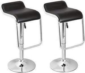 simply bar stools pair of bar stools black