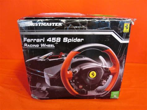 Xbox One Thrustmaster Vg 458 Spider Racing Wheel thrustmaster vg 458 spider racing wheel xbox one