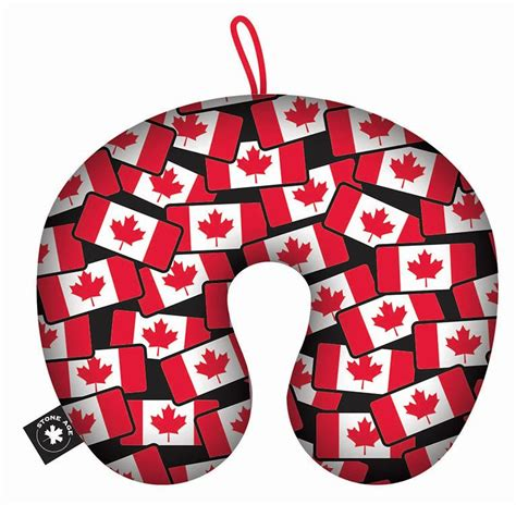U Pillow Canada by Canada Souvenirs Gifts Travel Pillow Canada Flag