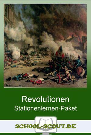 Paket Revolusion stationenlernen revolutionen 1789 bis 1848 im preisg 252 nstigen paket unterrichtsmaterial